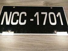 NCC-1701 STAR TREK ENTERPRISE VINTAGE NOVELTY LICENSE PLATE COVER SIGN
