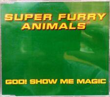 Super Furry Animals (SFA) - God! Show Me Magic CD Single (CD 1996) + 2 Extra