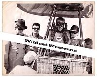 Rare BATMAN TV vintage original candid PHOTO Adam West Burt Ward Maurice Evans