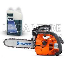 Motorsäge Kettensäge HUSQVARNA T435 - PRUNING + 1 LITER Öl-Gemisch - GUIDE 30 CM