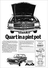 AUDI SUPER 90 RETRO A3 POSTER FROM CLASSIC 60'S ADVERT