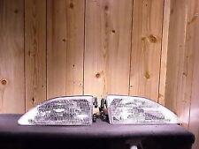 FORD MUSTANG 94-98 1994-1998 Set de faros Brillante Transparente RH & LH No OE