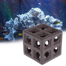 Aquarium Ceramic Cube Hiding Cave Fish Shrimp Crab Shelter Fish Tank Breeding