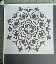 Floral Mandala Stencil Scrapbooking Cardmaking Airbrush Inking Home Decor Art #2
