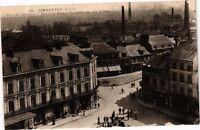 CPA Commentry-Place du 14 Juillet-Rue de la Mine et Vue Générale (267570)