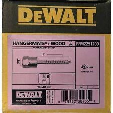 New ListingDeWalt Pfm2251200 Vertical Wood Driver 3/8'-1/4' x 3', 075352304359