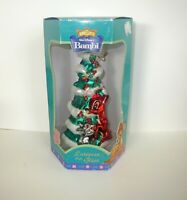 Discontinued DISNEY - Mercury Glass BAMBI & THUMPER CHRISTMAS ORNAMENT
