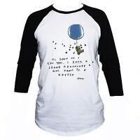 Cute Winnie The Pooh Love Friendship T shirt Unisex 3/4 Sleeve Top Size S M L XL