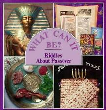 Riddles About Passover (What Can It Be Series)-ExLibrary