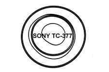 SET CINGHIE SONY TC-377 TC377 REGISTRATORE A BOBINE BOBINA NUOVE FRESCHE STRONG!
