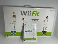 Wii Fit (Nintendo Wii, 2008) Bundle Game, And Board Workout