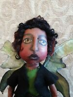 Prim Handmade Fairy Folk Art Doll