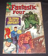 FANTASTIC FOUR #58 VG/FN 12¢ cover Marvel Comic   DOCTOR DOOM!