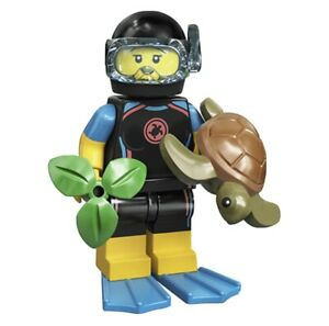Lego Minifigures Series 20 Sea Rescuer Diver