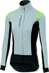 Castelli Alpha RoS Women's Windstopper Cycling Jacket Size Small White