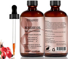 Rosehip Oil 100 Cold Pressed Pure Certified Organic 100ml Best Known Facial Wit