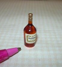 Miniature Single Liquor Bottle For the DOLLHOUSE Bar #7, 1/12 Scale Miniatures