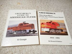 GREENBERG'S GUIDE TO AMERICAN FLYER TRAINS S GAUGE 1988