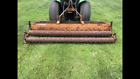 Woods Gill Double Roller Tractor Soil Pulverizer