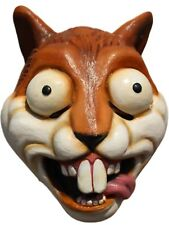 Crazy Squirrel Adult Latex Mask Funny Cartoon Anime Cosplay