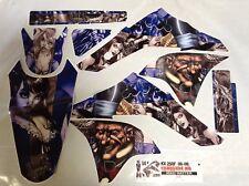 Dirt Bike Graphics Kit MX Decal Wrap For Kawasaki KX250F 2006-2008 HATTER S U