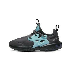 New Nike React Presto Gray/Green Toddler Shoes BQ4004-011