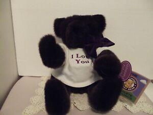 "Vermont Teddy Bear 16"" - Purple Passion in original box"