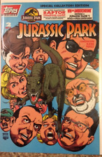 Topps Comics Jurassic Park Comic # 2 1993 Special Collectors Edition