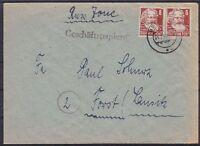 SBZ Mi Nr. 214 MeF Brief Berlin - Forst Lausitz 04.02.1949, sowjet. Zone