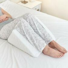 Bed Wedge Pillow - Clinical Grade Incline For Leg Rest Knee Up And Extra Comfort