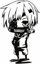 Tokyo Ghoul -- Kaneki Chibi Anime Decal Sticker for Car/Truck/Laptop