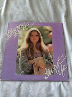 "Bonnie Raitt Give It Up"" WB BS 2643 from 1972 Gatefold"