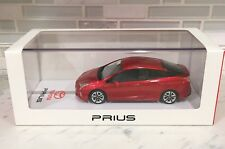 NIB AUTHENTIC TSM 2016 4th gen TOYOTA PRIUS Diecast Car Model 1:43 Red + GIFT!