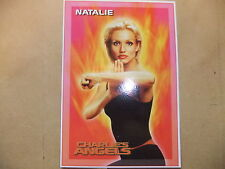 CHARLIE'S ANGELS DVD POSTCARD TRADING CARD CAMERON DIAZ MOVIE UK EXCLUSIVE