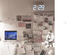 Digital Alarm Clocks Wall Hanging Watch Snooze Function Table Clock Calender
