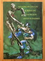 Legacy of Kain: Soul Reaver PS1 Playstation 1 1999 Poster Ad Print Art Official
