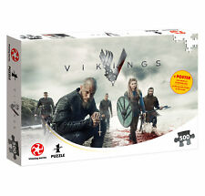 Puzzle Vikings The World Will be Ours Wikinger Fanartikel 500 Teile 48 x 34 cm