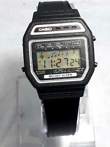 Vintage Casio 408m-62 Melody Digital Men's Wrist Watch