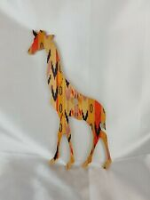 Wolfum Giraffe Wooden Wall HooksNursery Kids Decor Artistic Decor Nice