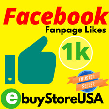 1000+ Facebook Page-Likes | Cheap - Instant Start | facebook likes