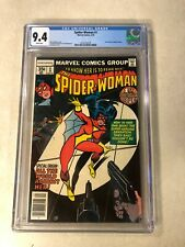 Spider-woman #1 CGC 9.4 NM ORIGIN MARVEL 1st series 1978 FEAR HER Infantino