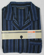 Marks and Spencer Striped Long Sleeve Nightwear for Men