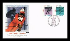 DR JIM STAMPS CALGARY OLYMPIC GAMES FIRST DAY ISSUE CANADA COMBO COVER