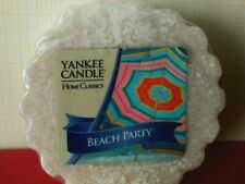 Yankee Candle ~ Beach Party ~ Tarts Wax Melt ~ Set Of Four (4)