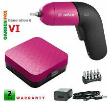 PINK new Bosch IXO VI (Gen.6) Cordless Screwdriver 06039C7072 4053423217537 -