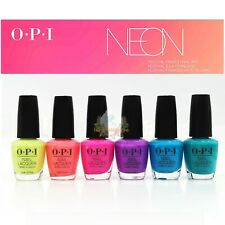 """OPI NAIL LACQUER """"Neon"""" FULL  Collection Summer 2019 - 6PCS"""