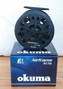 *New* Okuma AIRFRAME Large Arbor Fly Reel 4/6 or 7/9 Line Weight (Buy 2 for £36)