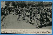 CPA: Turcos en marche vers le nord de Reims  / Guerre 14-18 / 1915