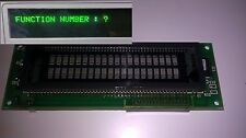 Fluorescent Green Futaba M202SD04A VFD Display Module 20 Char x 2 Lines