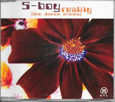 S-BOY - Reality (The Dance Mixes) CDM 5TR Trance 2003 Germany